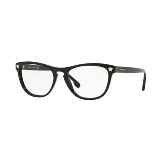Versace VE3260A Women's Black Frame Demo Lens Eyeglasses