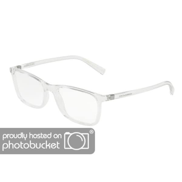 f09e34b3777 Shop Dolce   Gabbana DG5027 Men s Crystal Frame Demo Lens Eyeglasses ...