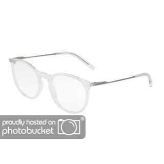 9f6f279ca23 Dolce   Gabbana DG5031 Men s Crystal Frame Demo Lens Eyeglasses
