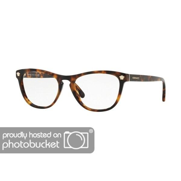 a22b876db2 Shop Versace VE3260A Women s Havana Frame Demo Lens Eyeglasses - Free  Shipping Today - Overstock.com - 25463511