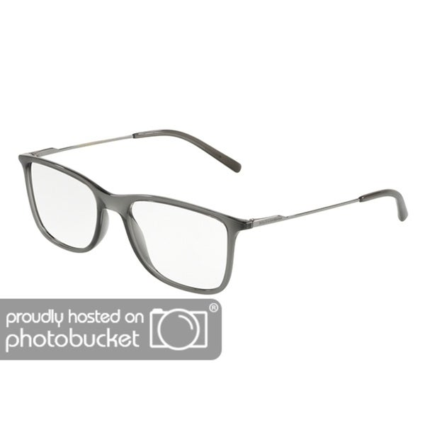 8168d8ceac6f Shop Dolce   Gabbana DG5024 Men s Transparent Grey Frame Demo Lens  Eyeglasses - Free Shipping Today - Overstock - 25463527
