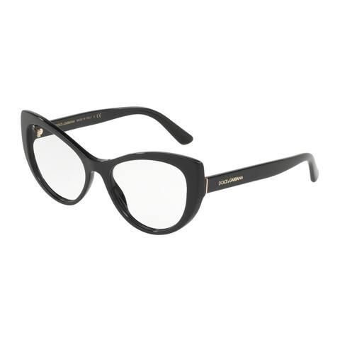 e12c1d4089e97 Dolce   Gabbana DG3285 Women s Black Frame Demo Lens Eyeglasses