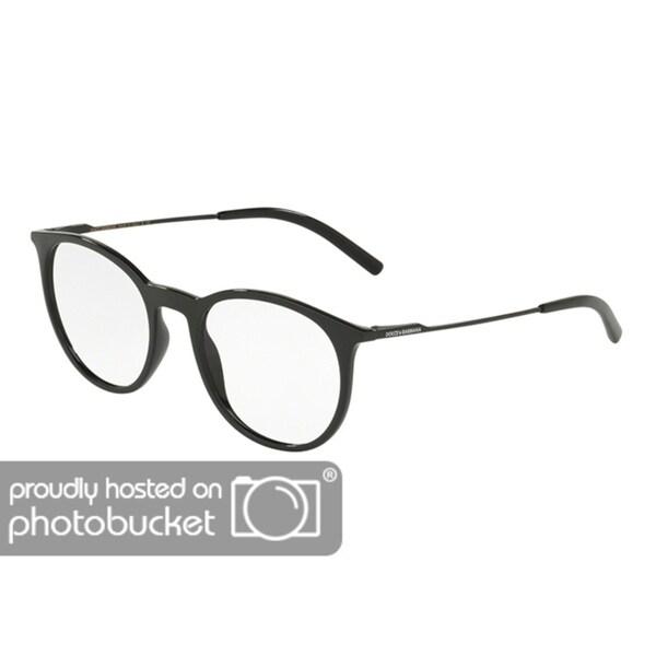 2fa0f4101c8 Shop Dolce   Gabbana DG5031 Men s Black Frame Demo Lens Eyeglasses - Free  Shipping Today - Overstock - 25463549