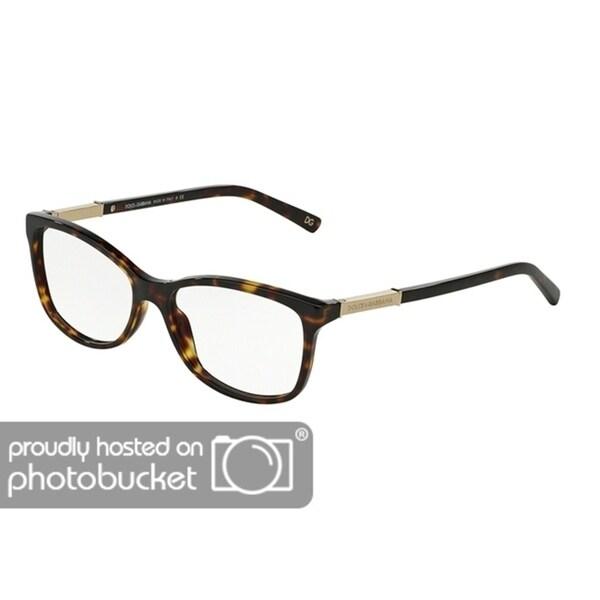bd74a75527a Shop Dolce   Gabbana DG3107 Women s Havana Frame Demo Lens Eyeglasses - Free  Shipping Today - Overstock - 25463550