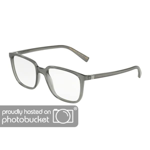 4e384b221edc Shop Dolce   Gabbana DG5029 Men s Transparent Grey Frame Demo Lens  Eyeglasses - Free Shipping Today - Overstock - 25463582