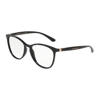 Dolce & Gabbana DG5034 Women's Black Frame Demo Lens Eyeglasses