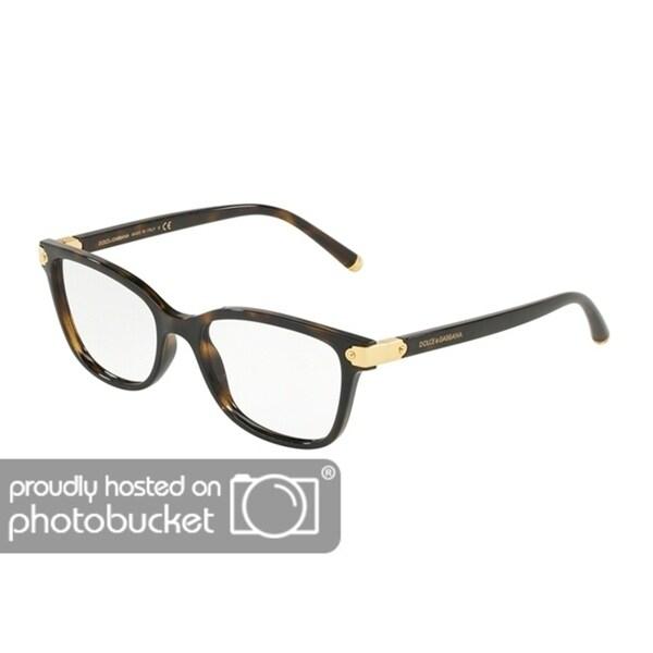 638ff0da28d Dolce  amp  Gabbana DG5036 Women  x27 s Havana Frame Demo Lens Eyeglasses