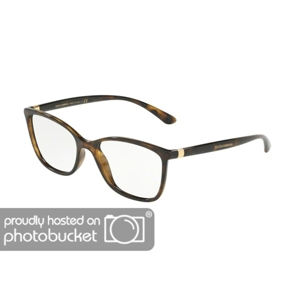 82a8e6000dc Shop Dolce   Gabbana DG5026 Women s Havana Frame Demo Lens Eyeglasses -  Free Shipping Today - Overstock.com - 25463761
