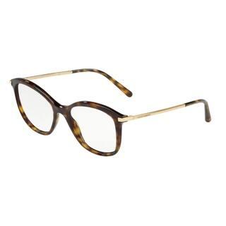 f8cb4e886c Dolce   Gabbana DG3299 Women s Havana Frame Demo Lens Eyeglasses