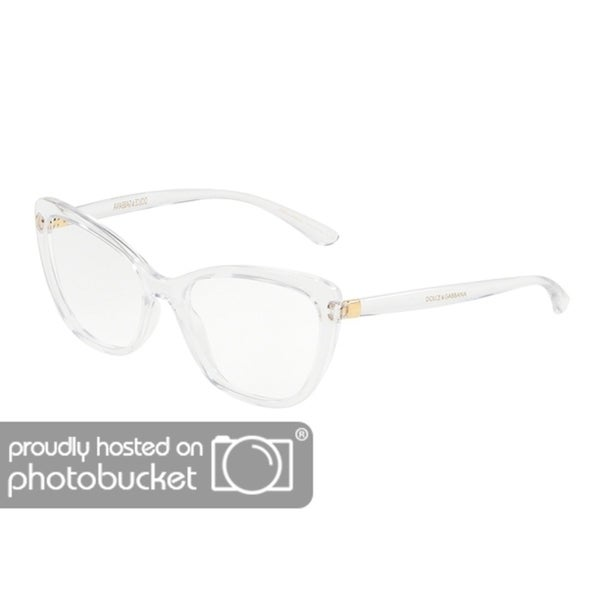 9a5c5670f6a Shop Dolce   Gabbana DG5039 Women s Crystal Frame Demo Lens Eyeglasses -  Free Shipping Today - Overstock - 25463781