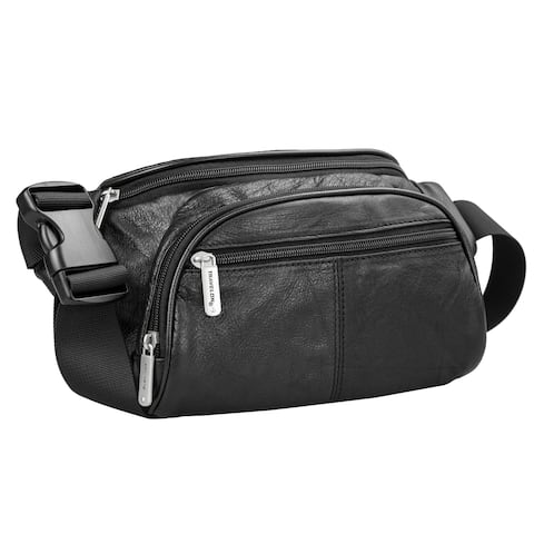 Travelon Leather Waist-Pack