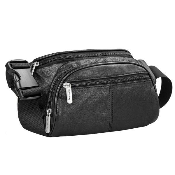 Travelon Leather Waist-Pack