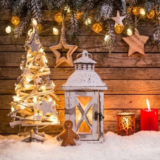 Christmas Photographic Cloth Customized Photographic Backdrop For Photo Studio