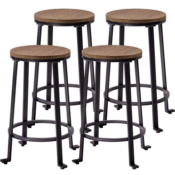 4 Dining Room Chairs For Sale: Shop Harper & Bright Designs 24-inch Bar Stools Dining