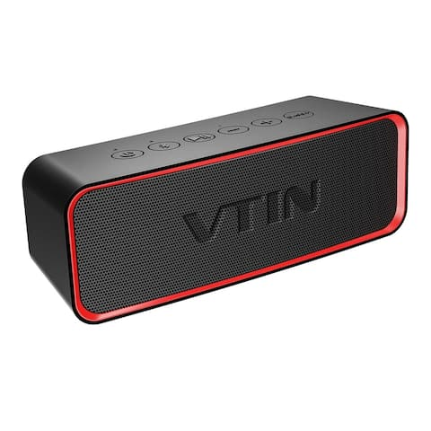 VTIN Portable Wireless Bluetooth Speaker with Extra Bass and Classic Audio, Exclusive Bass+