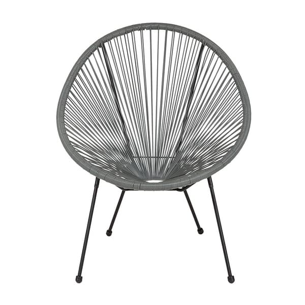 Admirable Shop Offex Valencia Oval Comfort Series Take Ten Grey Rattan Bralicious Painted Fabric Chair Ideas Braliciousco