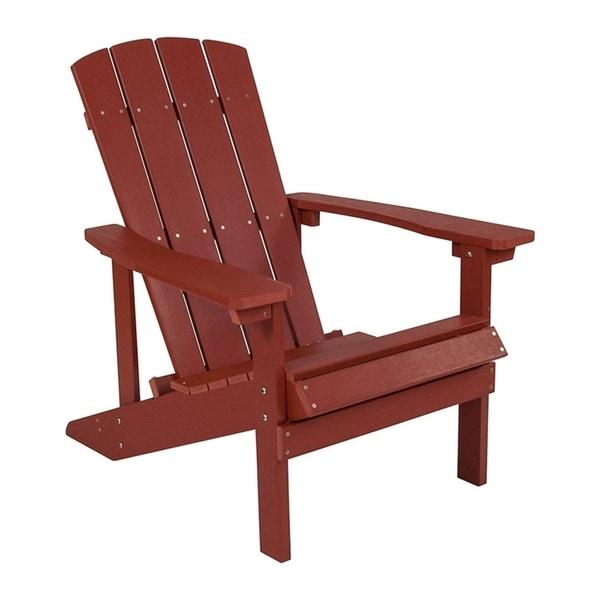 Enjoyable Shop Offex Cottage Style All Weather Adirondack Patio Chair Download Free Architecture Designs Momecebritishbridgeorg