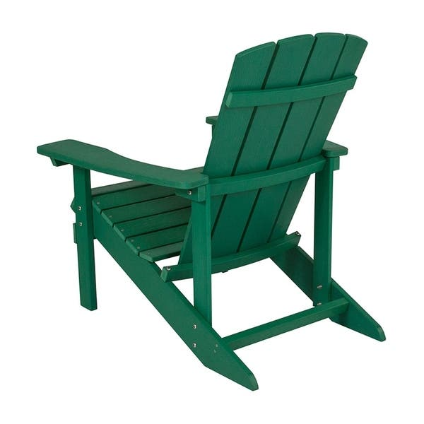 Superb Shop Offex Cottage Style All Weather Adirondack Patio Chair Onthecornerstone Fun Painted Chair Ideas Images Onthecornerstoneorg