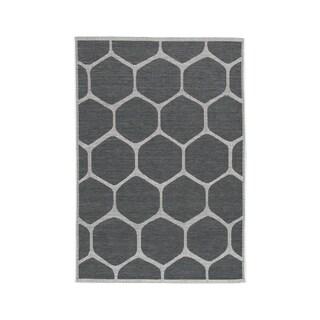Javed Medium Charcoal Rug - N/A