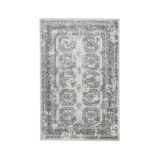 Jirou Large Gray/Taupe Rug - N/A