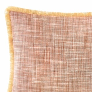Tommy Bahama Sunrise Stripe Burnt Coral Breakfast Pillow