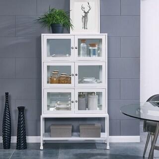 Porch & Den Lake Lighted Curio Cabinet Contemporary
