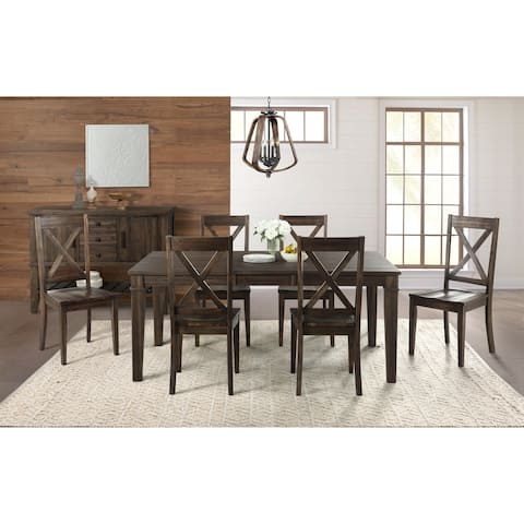 Simply Solid Winston Solid Wood 8-piece Dining Collection