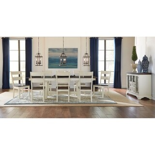 Simply Solid Cache Solid Wood 10-piece Dining Collection
