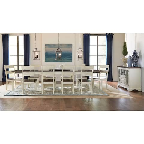 Simply Solid Cache Solid Wood 14-piece Dining Collection