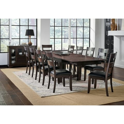 Simply Solid North Mills Solid Wood 11-piece Dining Collection