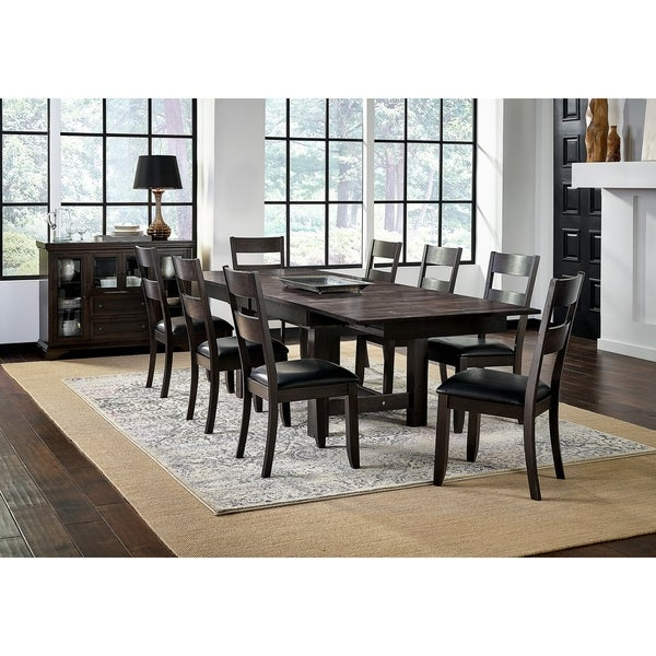 Simply Solid North Mills Solid Wood 9-piece Dining Collection
