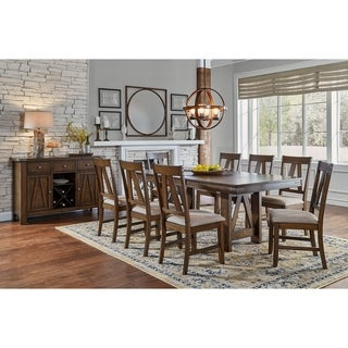 Simply Solid Animas Solid Wood 10-piece Dining collection