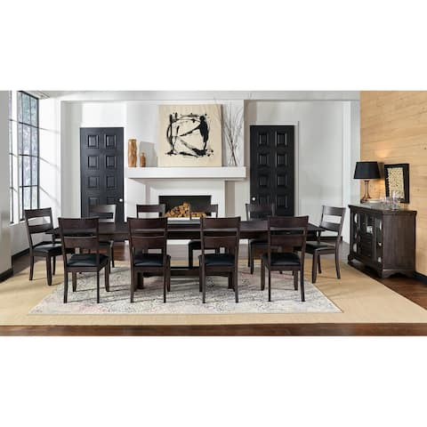 Simply Solid North Mills Solid Wood 12-piece Dining Collection