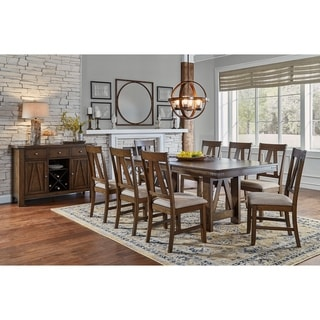 Simply Solid Animas Solid Wood 9-piece Dining Collection