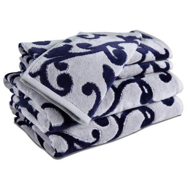 Provance Hotel Luxury Jacquard 5-Piece Towel Set