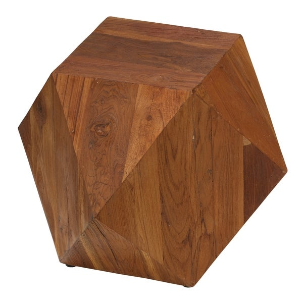 Bare Decor Dakota Wood End Table