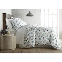 Grand Symphony Reversible Cotton Duvet Cover and Sham Set