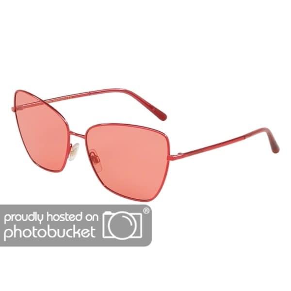 99bed89e9cfb Shop Dolce   Gabbana Cat Eye DG2208 Women s Bordeaux Frame Pink Lens  Sunglasses - Free Shipping Today - Overstock - 25481252