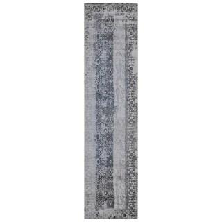 Handmade Mahal Wool Rug (India) - 9'4 x 12'9