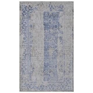 Handmade Mahal Wool Rug (India) - 9'6 x 12'9