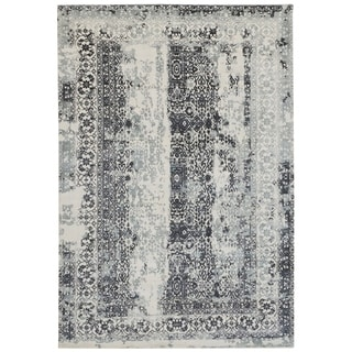 Handmade Mahal Wool Rug (India) - 9'7 x 12'1