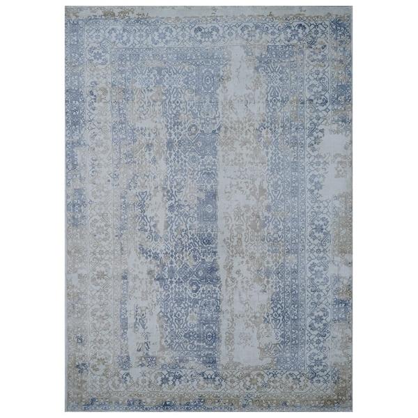 Handmade Mahal Wool Rug (India) - 9'7 x 12'4
