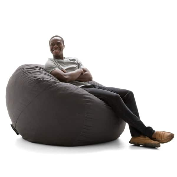 Fine Shop Big Joe Fuf Nest Bean Bag Chair Lenox On Sale Free Caraccident5 Cool Chair Designs And Ideas Caraccident5Info
