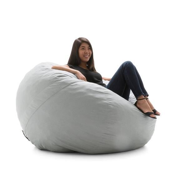 Marvelous Shop Big Joe Fuf Nest Bean Bag Chair Lenox On Sale Free Ibusinesslaw Wood Chair Design Ideas Ibusinesslaworg