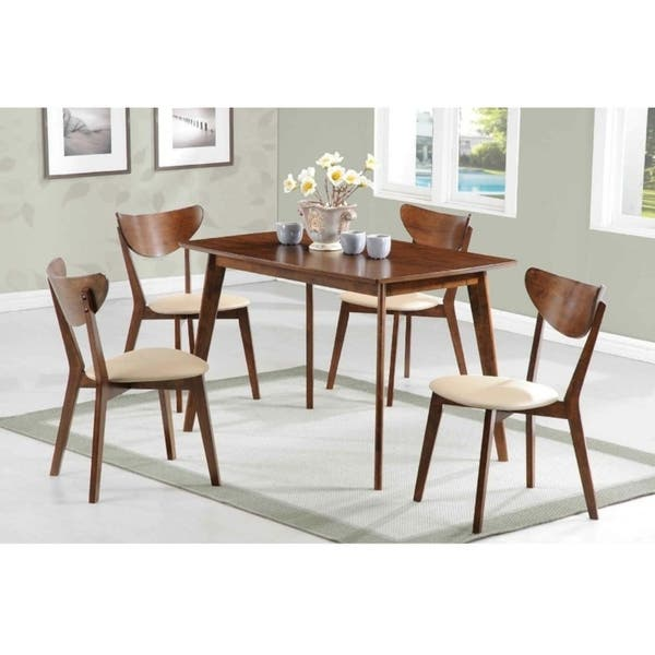 Alcove Retro Style Dining Set Overstock 25481444