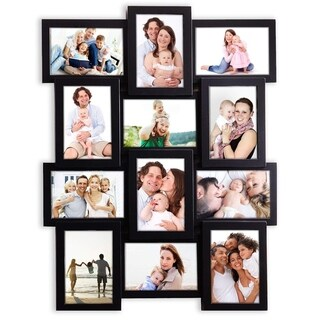 Jerry & Maggie - Photo Frame 23x18 Black PVC Picture Frame Selfie Gallery Collage Wall Hanging for 6x4 Photo