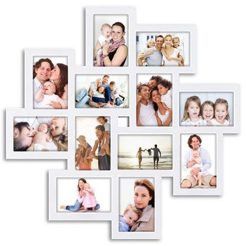 Jerry & Maggie - Photo Frame 24x24 Square Storm Eye White PVC Picture Frame