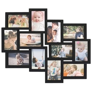 Jerry & Maggie - Photo Frame 19x22 Black Picture Frame Selfie Gallery Collage Wall Hanging for 6x4 Photo