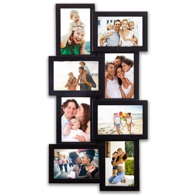 Jerry & Maggie - Photo Frame Vertical Horizontal Display Picture Frame Gift 23x11 Black PVC Picture Frame