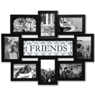 Jerry & Maggie - Photo Frame 22x17 Wood Tone Friends Picture Frame